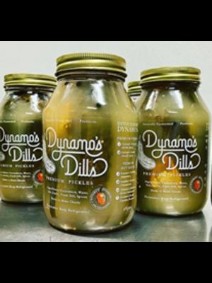 Dynamo's Dills - Dynamite Spicy Dill Pickles, 30 oz