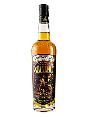"""Compass Box """"The Story of the Spaniard"""" Blended Malt Scotch Whisky"""