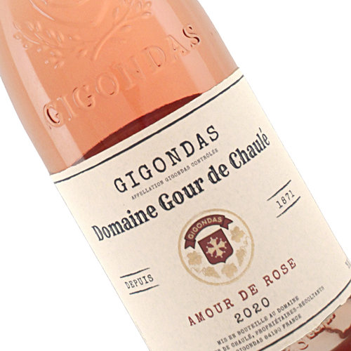 """Domaine Gour de Chaule  2020 Gigondas Rose """"Amour de Rose"""", Rhone Valley, France"""