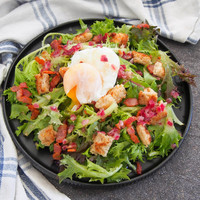 IMPRESS YOUR GUESTS WITH THIS CLASSIC LYONNAISE SALAD