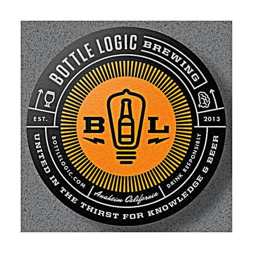 "Bottle Logic Brewing ""Appied Science"" Berry Pie Stout 500ml bottle-Anaheim, CA"