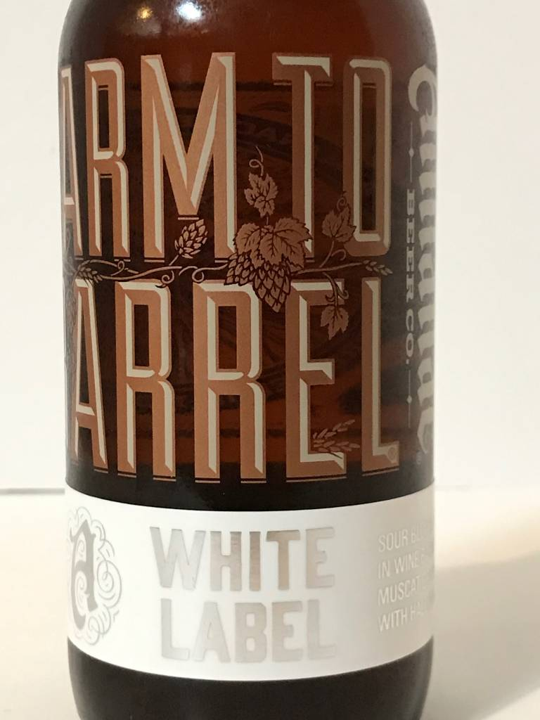 "Almanac Beer Company ""White Label"" Sour Blonde, California"