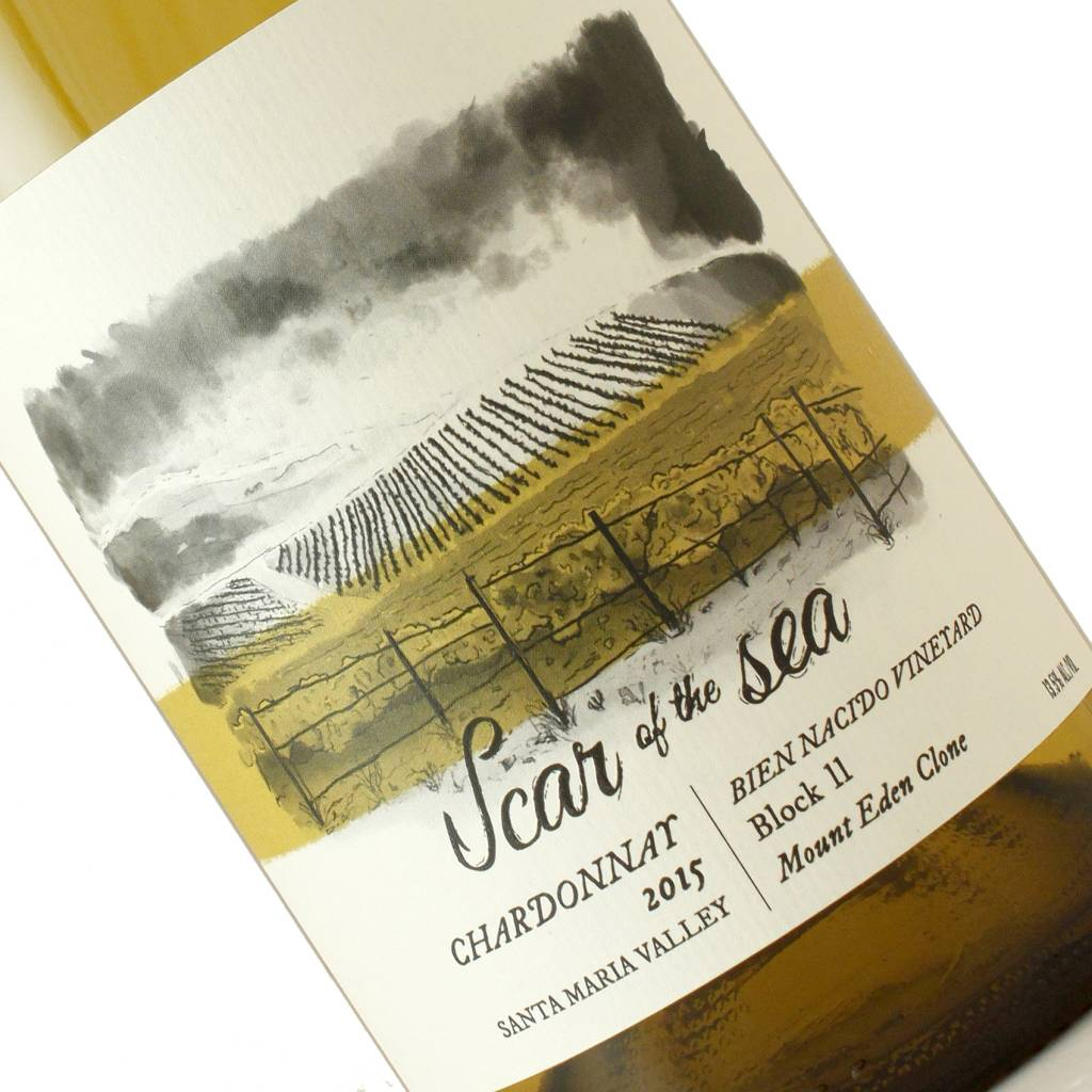 Scar of the Sea 2015 Chardonnay Bien Nacido Vineyard, Santa Maria Valley