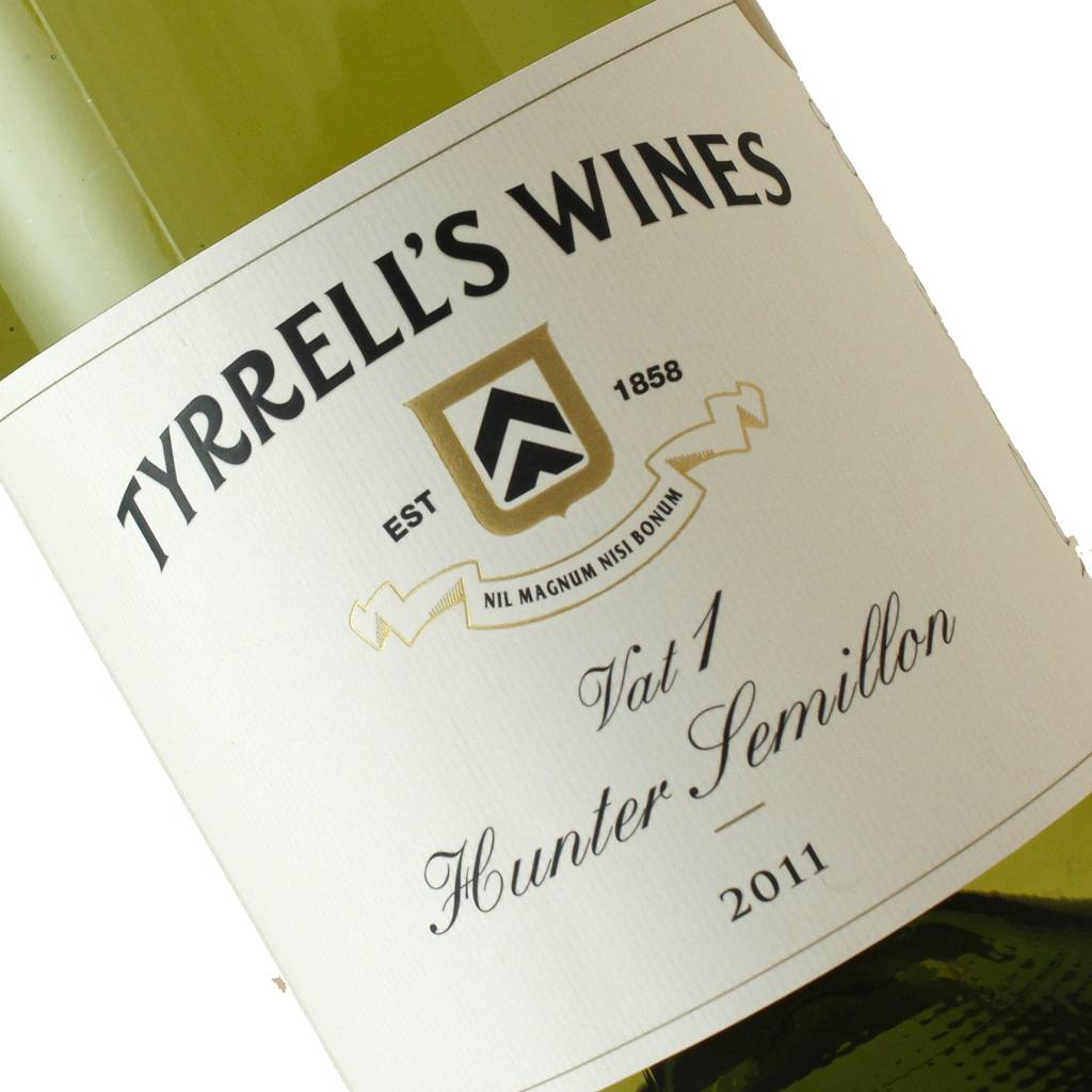 Tyrrell's 2011 Semillon Vat 1, Hunter Valley