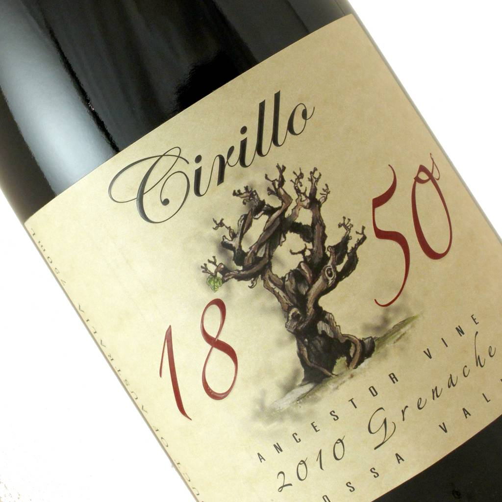 Cirillo 1850 2010 Grenache Barossa Valley
