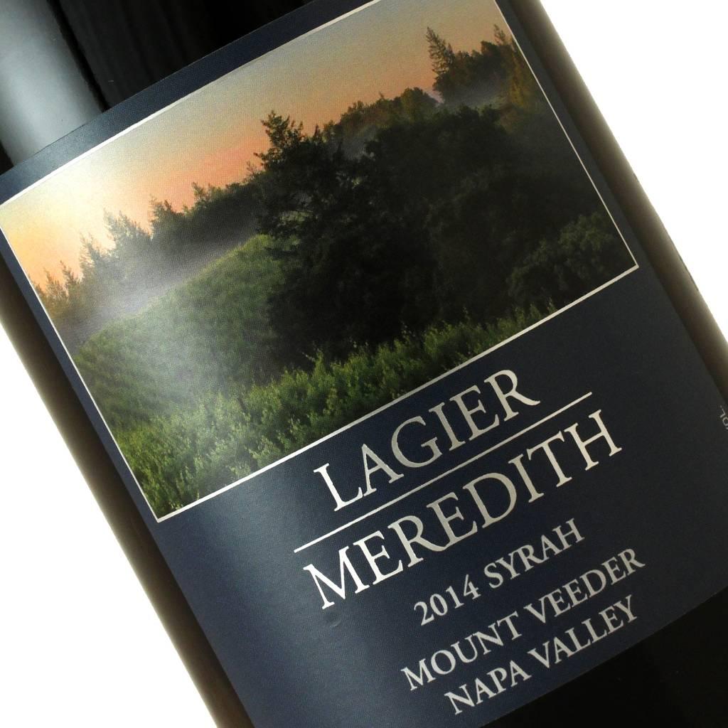 Lagier Meredith 2014 Syrah Mount Veeder, Napa Valley
