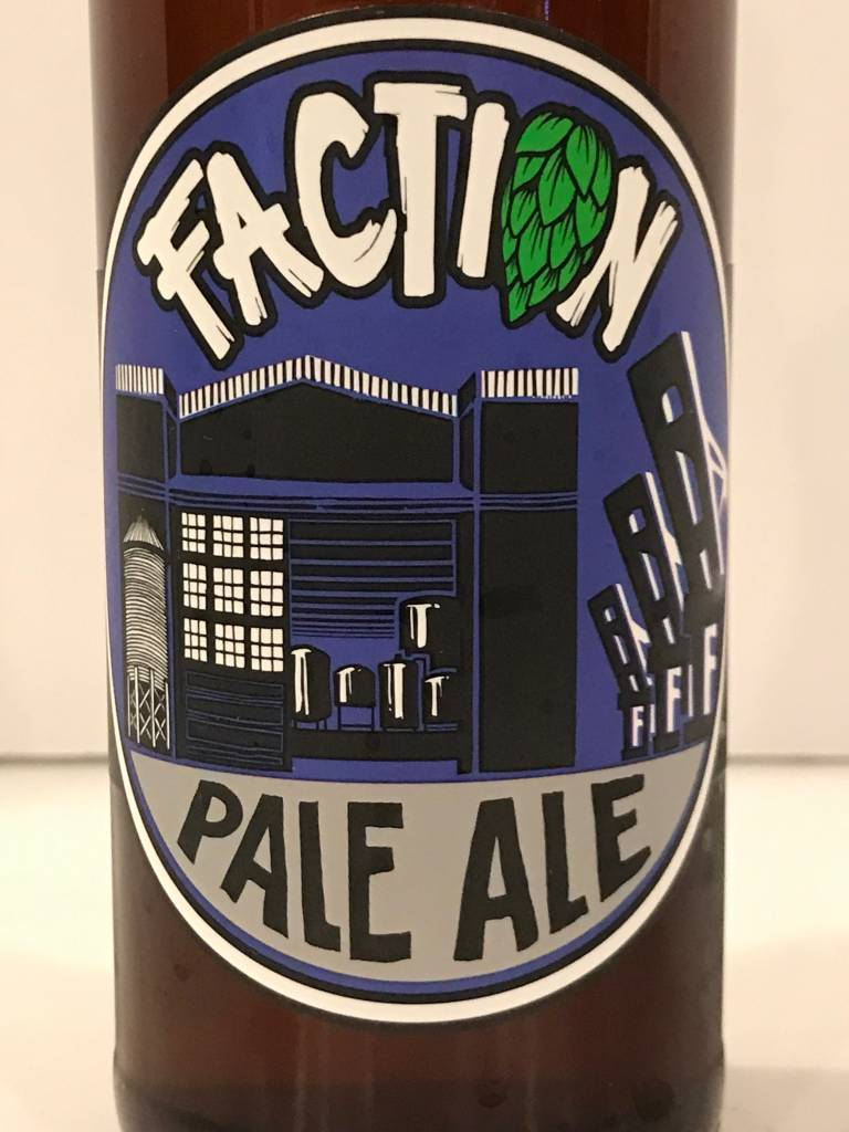 """Faction Brewing """"Pale Ale"""", California"""