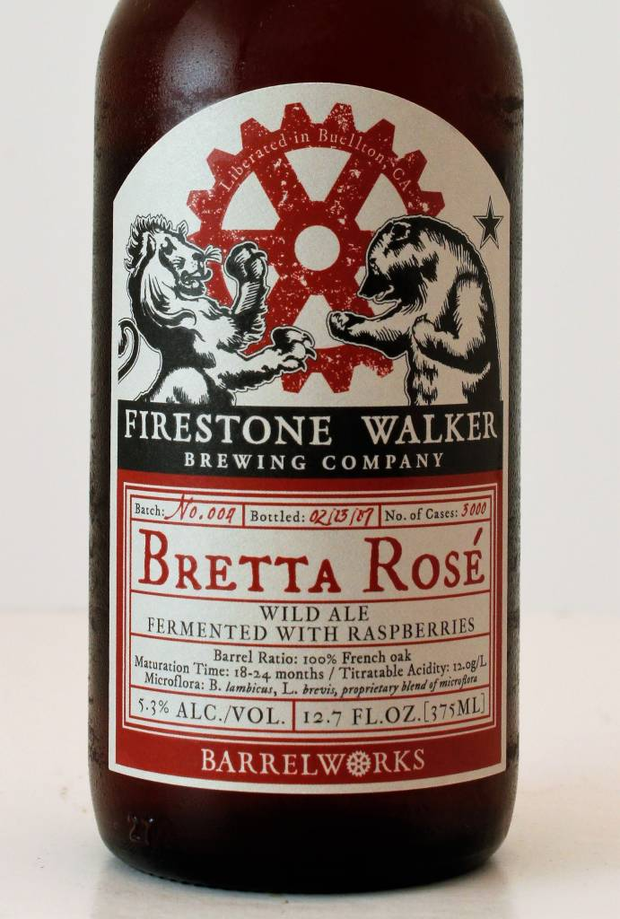 "Firestone Walker Brewing ""Bretta Rose"" Sour Ale, California"
