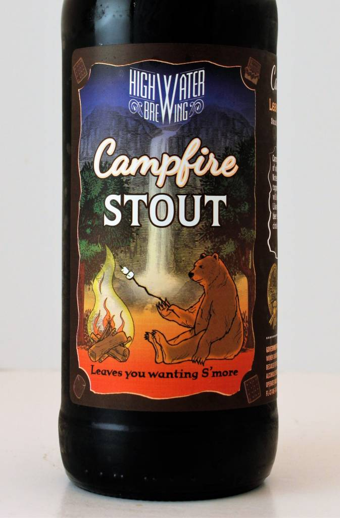 "High Water Brewing ""Campfire Stout"""