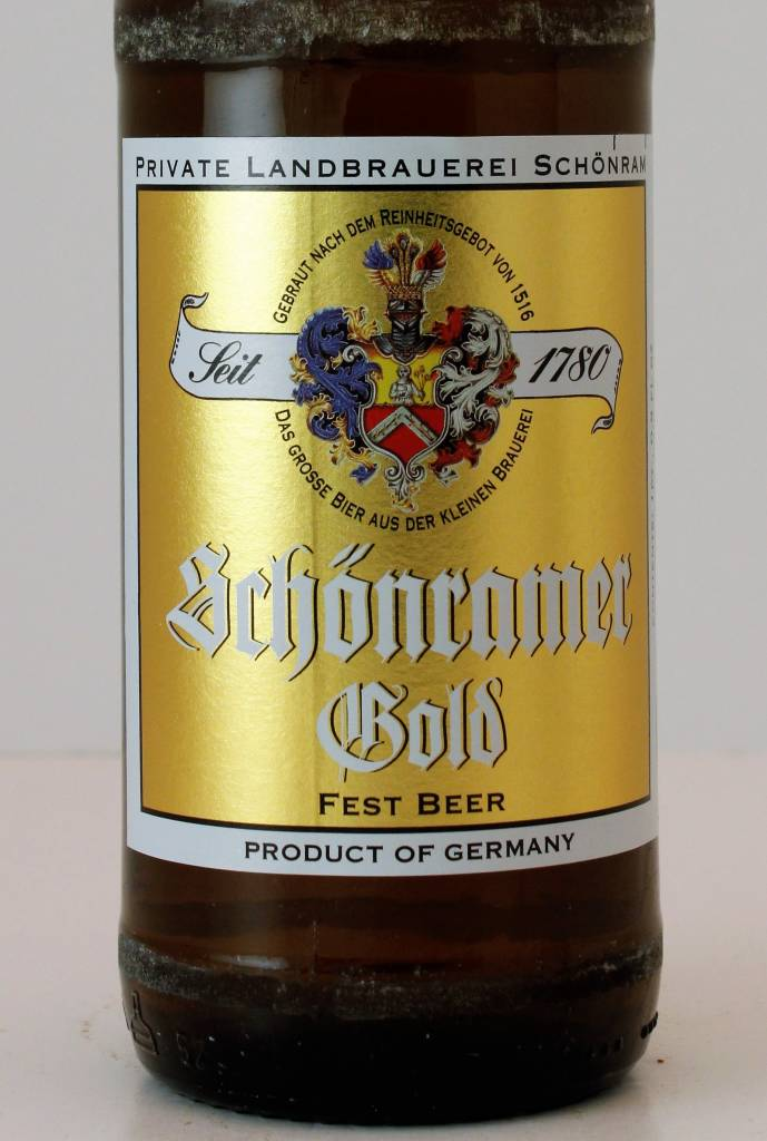 Schonramer Gold Fest Beer, Germany