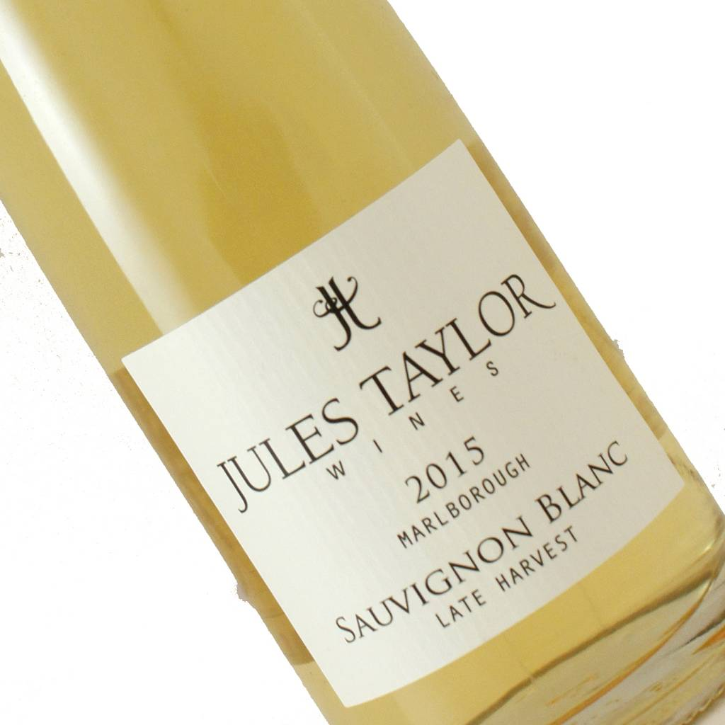 Jules Taylor 2015 Sauvignon Blanc Late Harvest Marlborough, New Zealand - Half Bottle