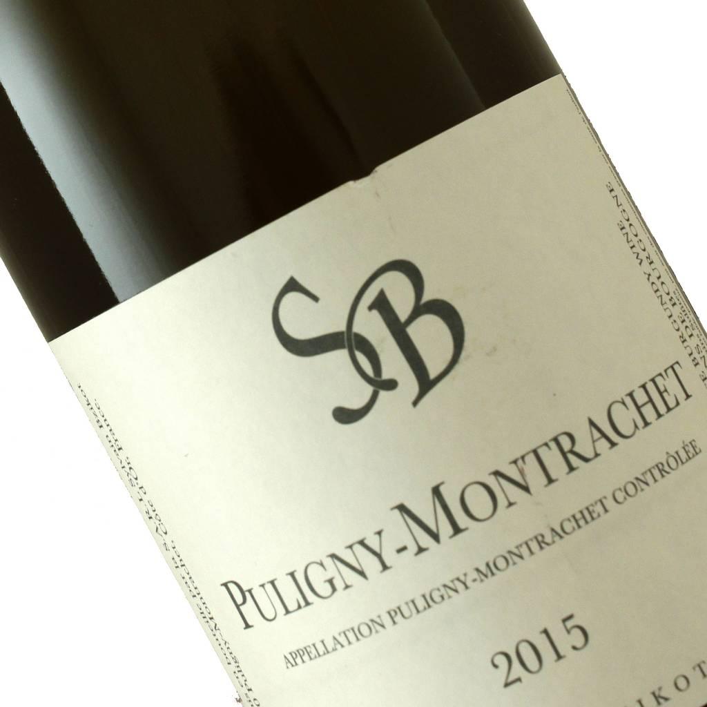 Sylvain Bzikot 2015 Puligny-Montrachet, Burgundy