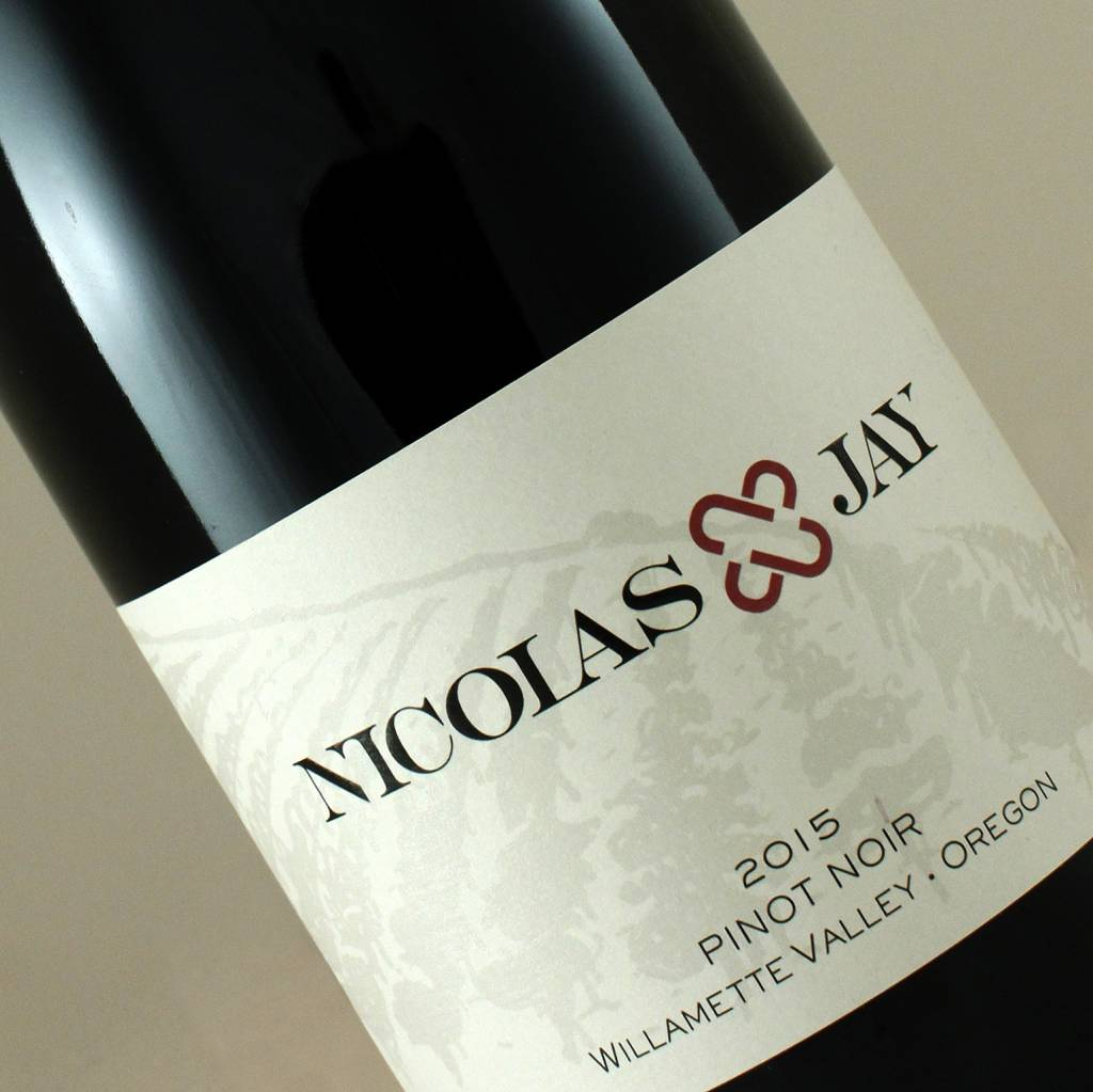 Nicolas Jay 2015 Pinot Noir Willamette Valley, Oregon