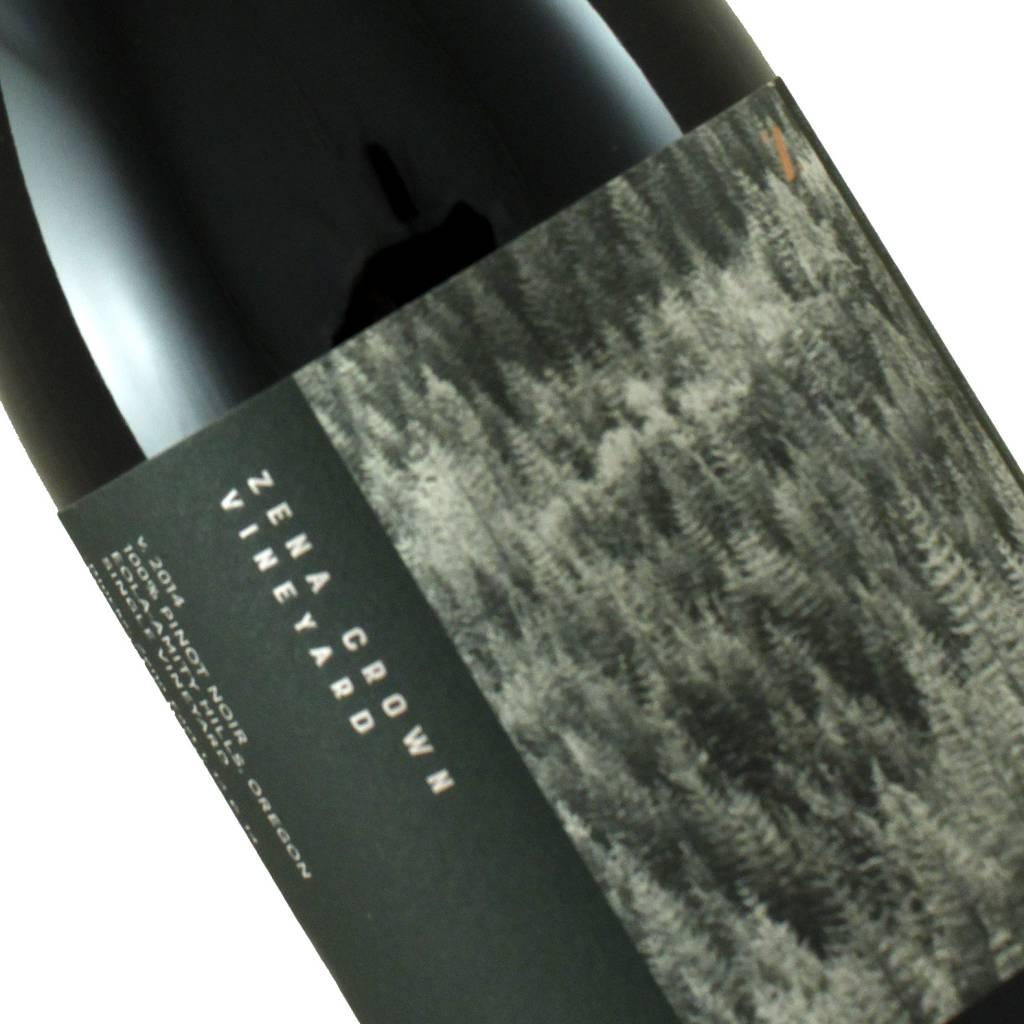 Zena Crown Vineyard 2014 Pinot Noir, Oregon