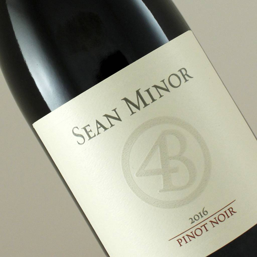 "Sean Minor 2017 Pinot Noir ""Four Bears"" Central Coast"
