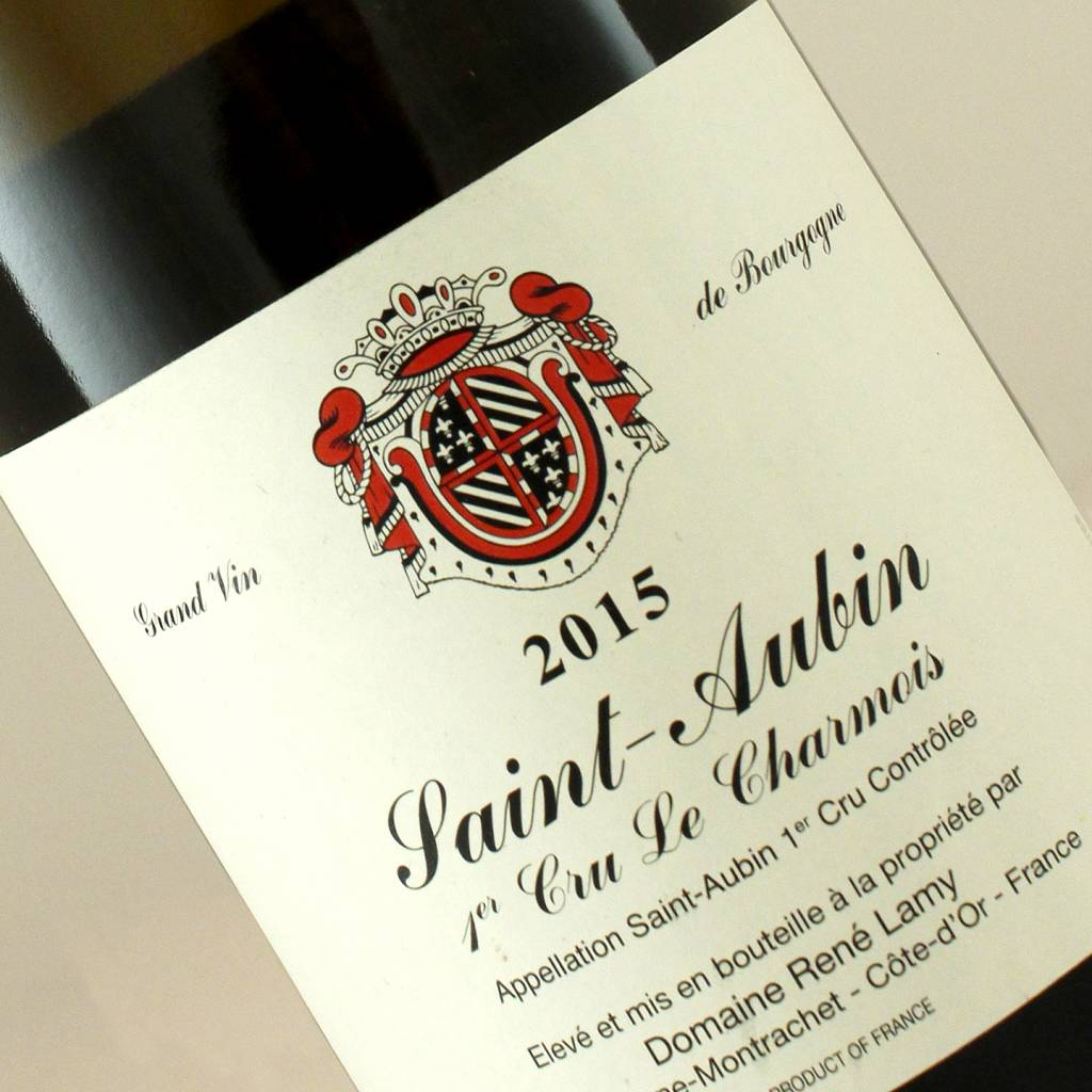Domaine Rene Lamy 2015 Saint-Aubin Premier Cru Le Charmois, Burgundy