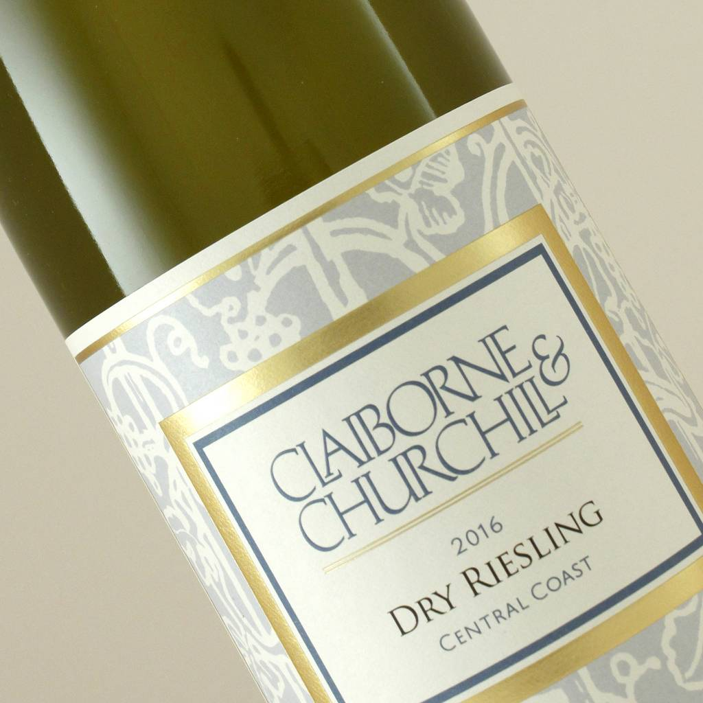 Claiborne & Churchill 2016 Dry Riesling, Central Coast, California