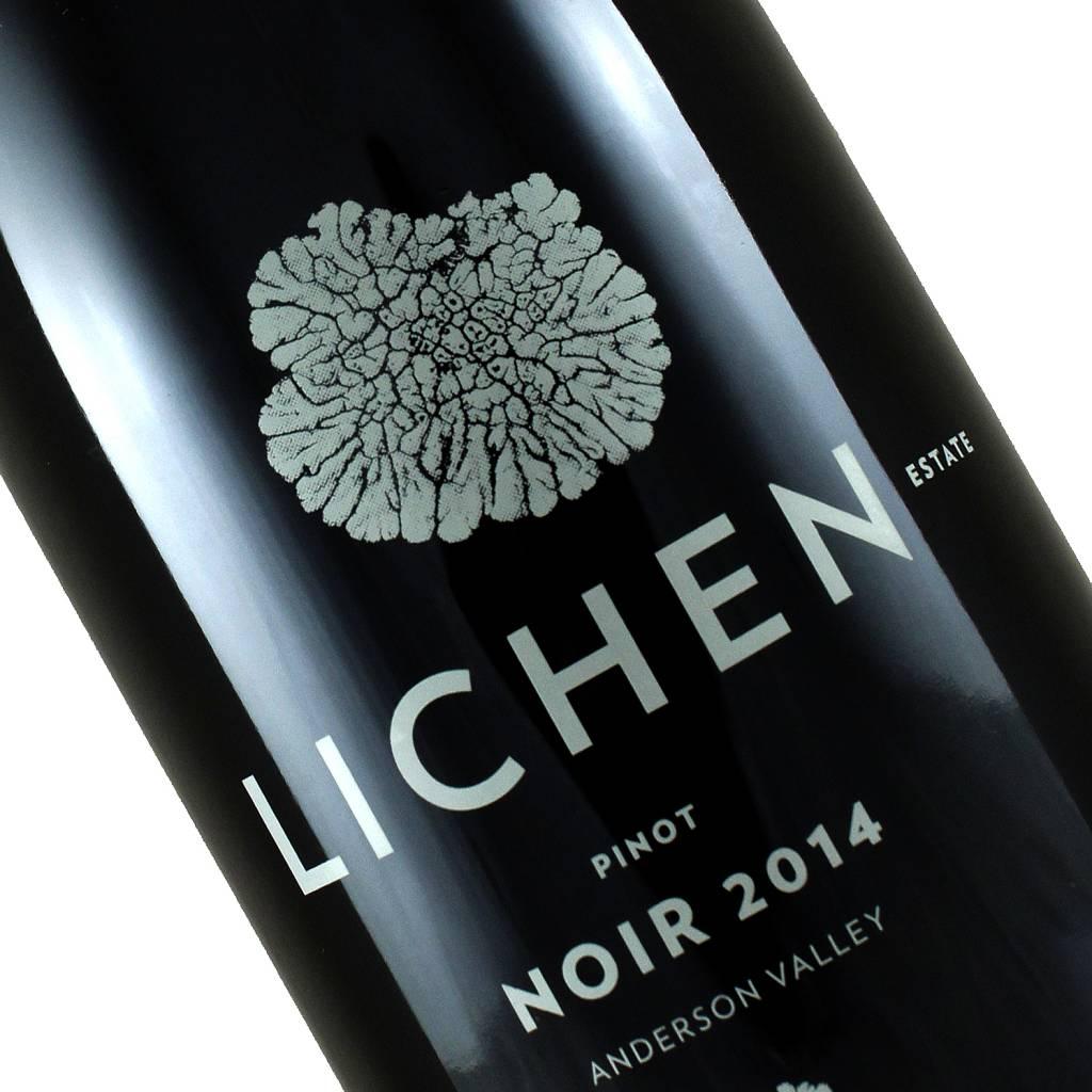 Lichen 2014 Estate Pinot Noir, Anderson Valley, Mendocino