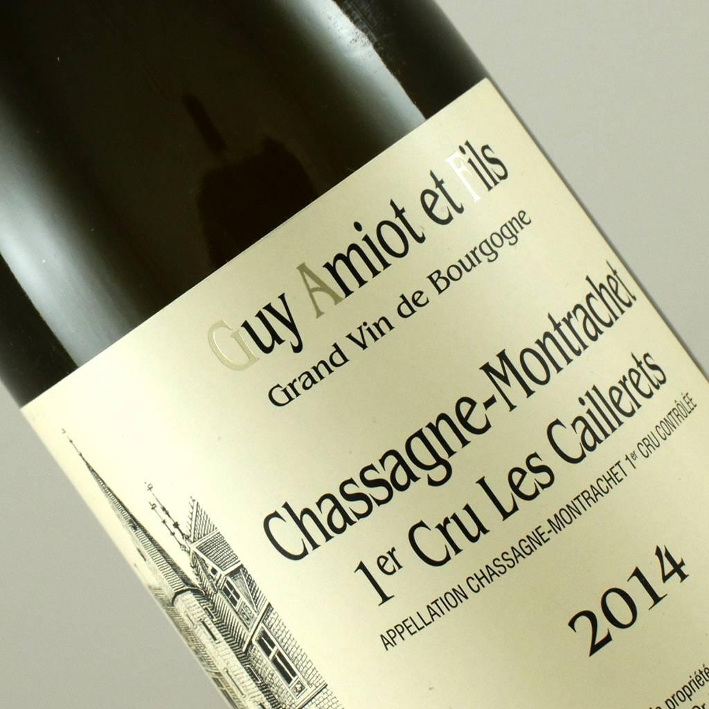 Guy Amiot 2014 Chassagne Montrachet 1er Cru Les Caillerets, Burgundy