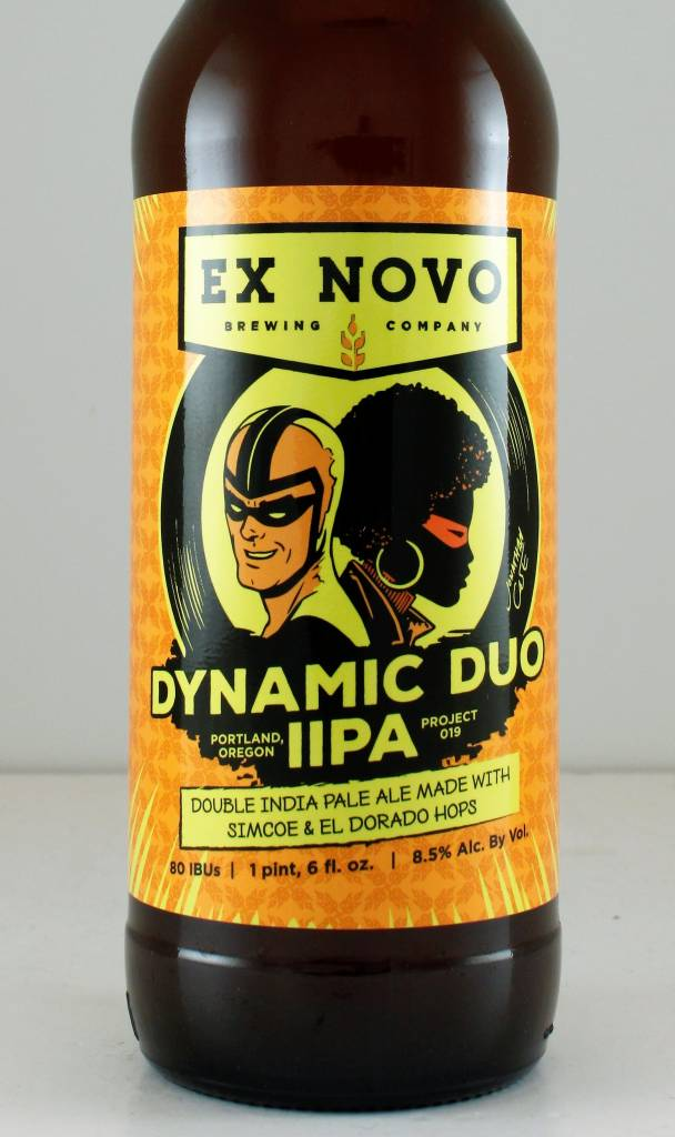 "Ex Novo ""Dynamic Duo"" Double IPA, Oregon"