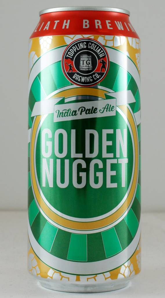 """Toppling Goliath """"Golden Nugget"""" IPA, Iowa - 16oz can"""