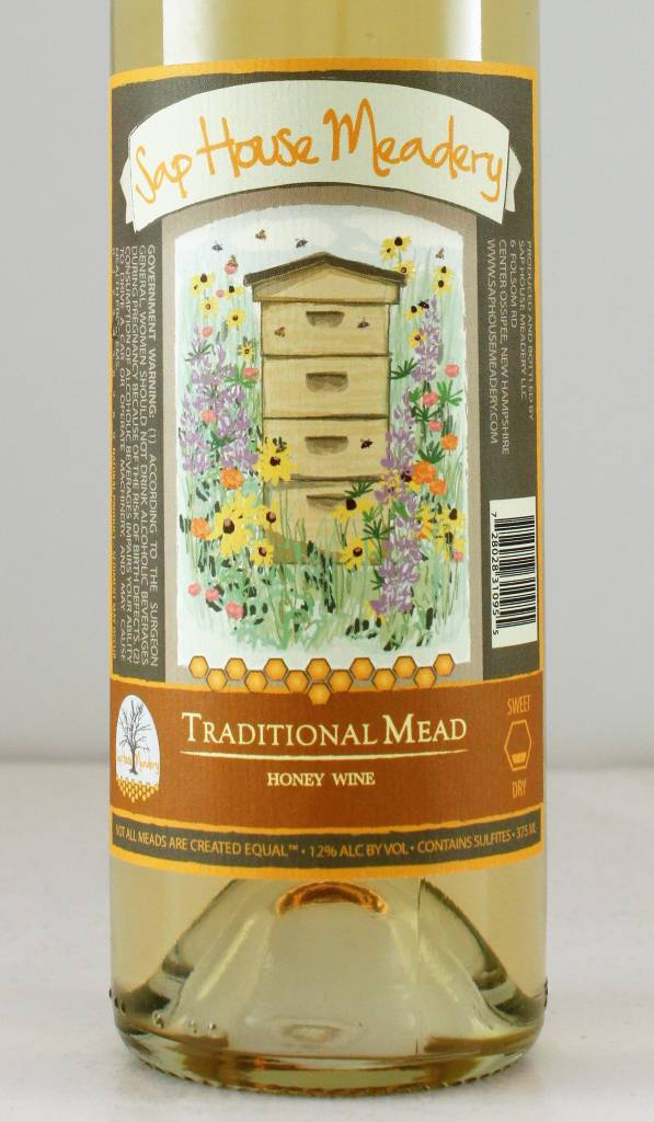 "Sap House Meadery ""Traditional Mead"" - 375ml"