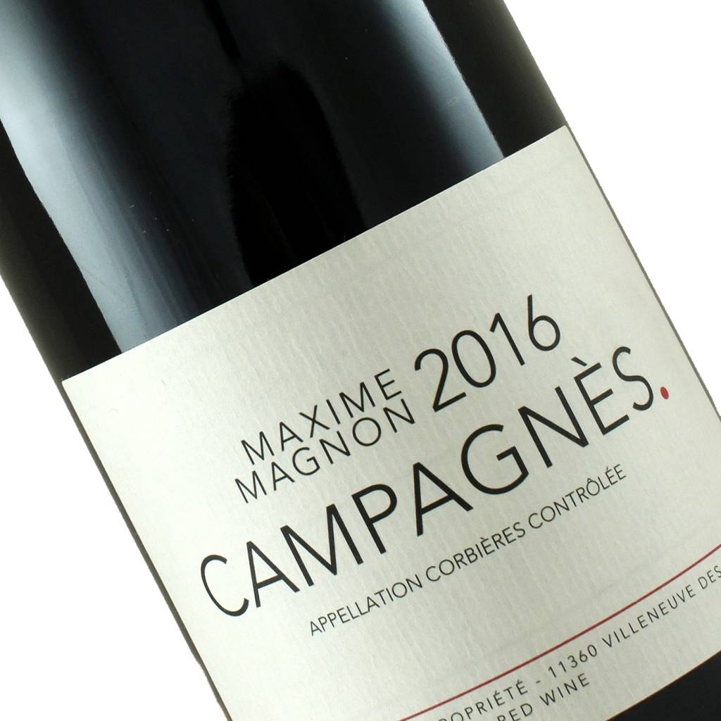 Maxime Magnon 2016 Campagnes Corbieres, Languedoc, France