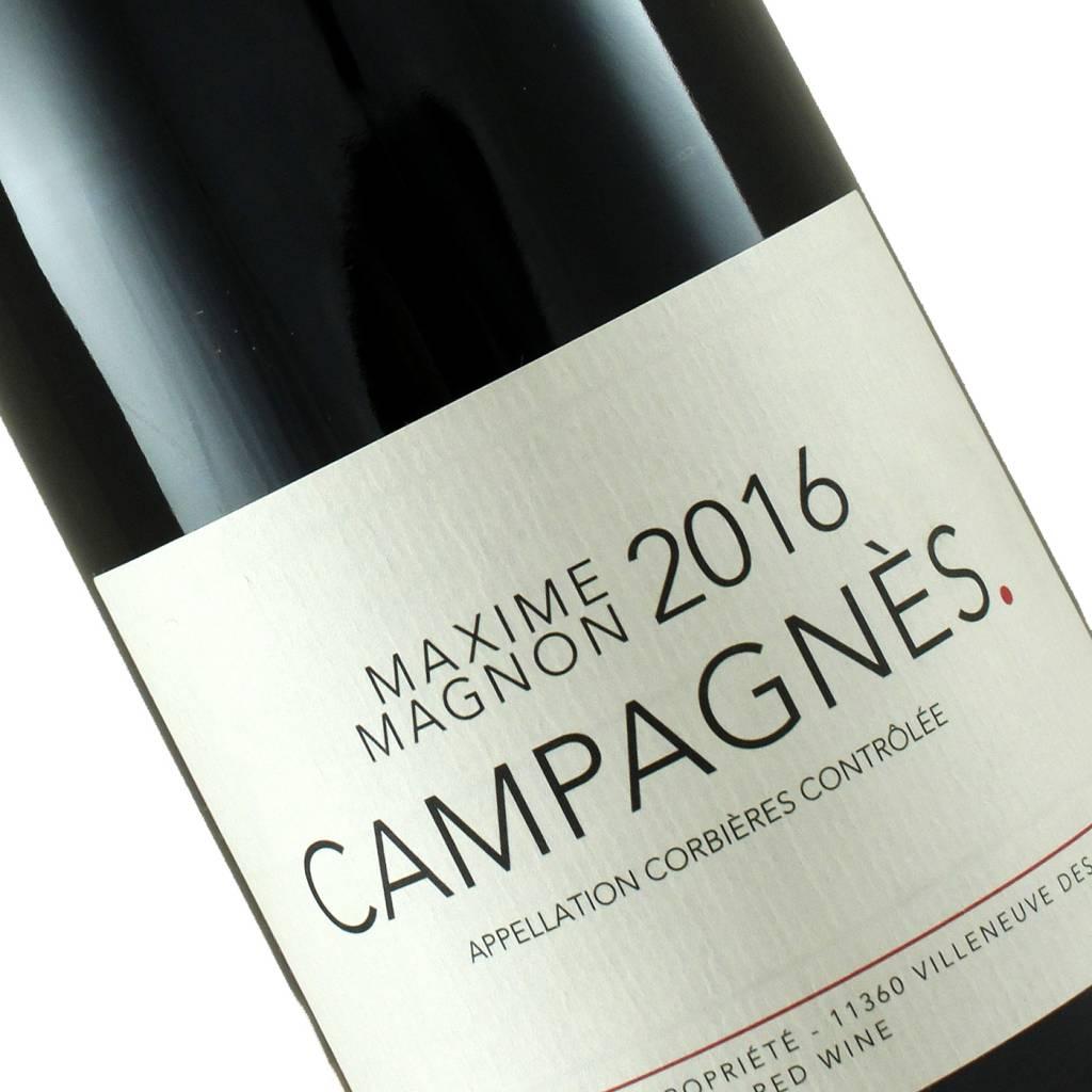 Maxime Magnon 2016 Campagnes Corbieres