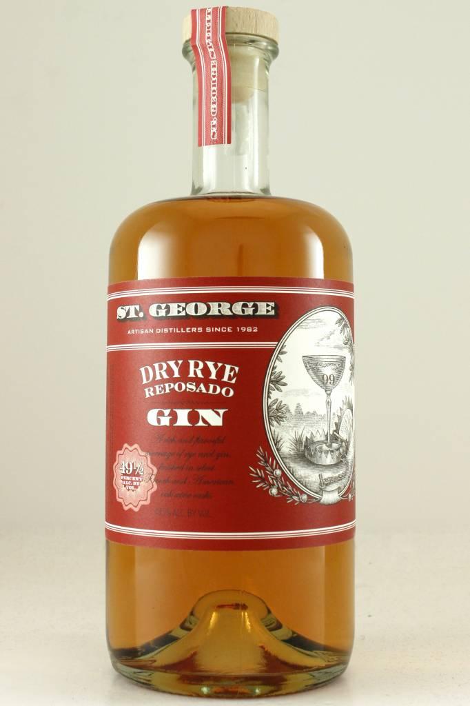St. George Dry Rye Reposado Gin, Alameda, California