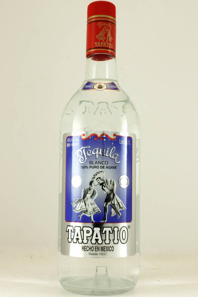 Tapatio Tequila Blanco, Mexico - 1Ltr