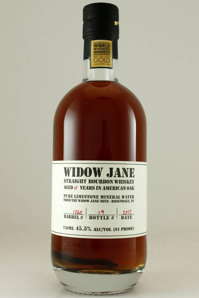 Widow Jane Straight Bourbon Whiskey Aged 10 Years, Brooklyn, New York