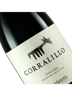 """Matetic 2015 Syrah """"Corralillo"""" , Chile"""