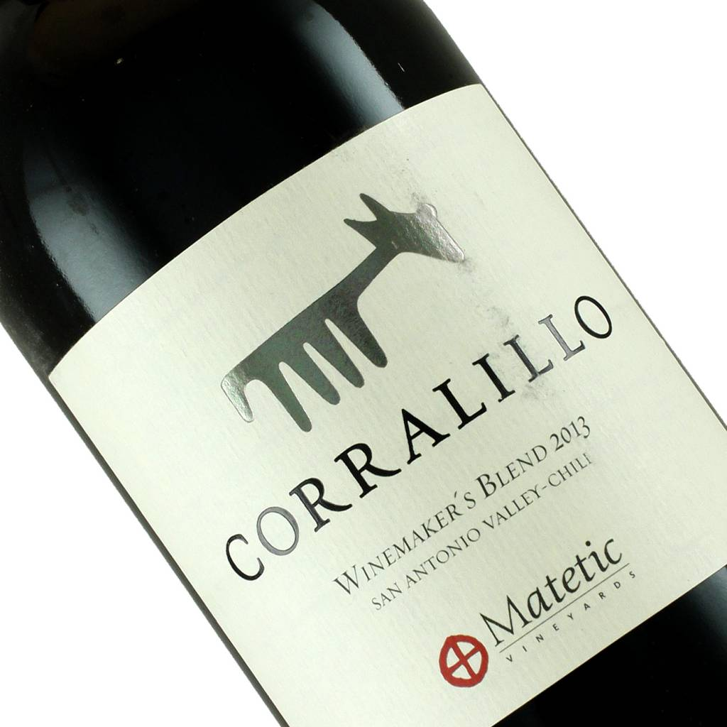 Matetic Corralillo 2013 Red Blend, Chile