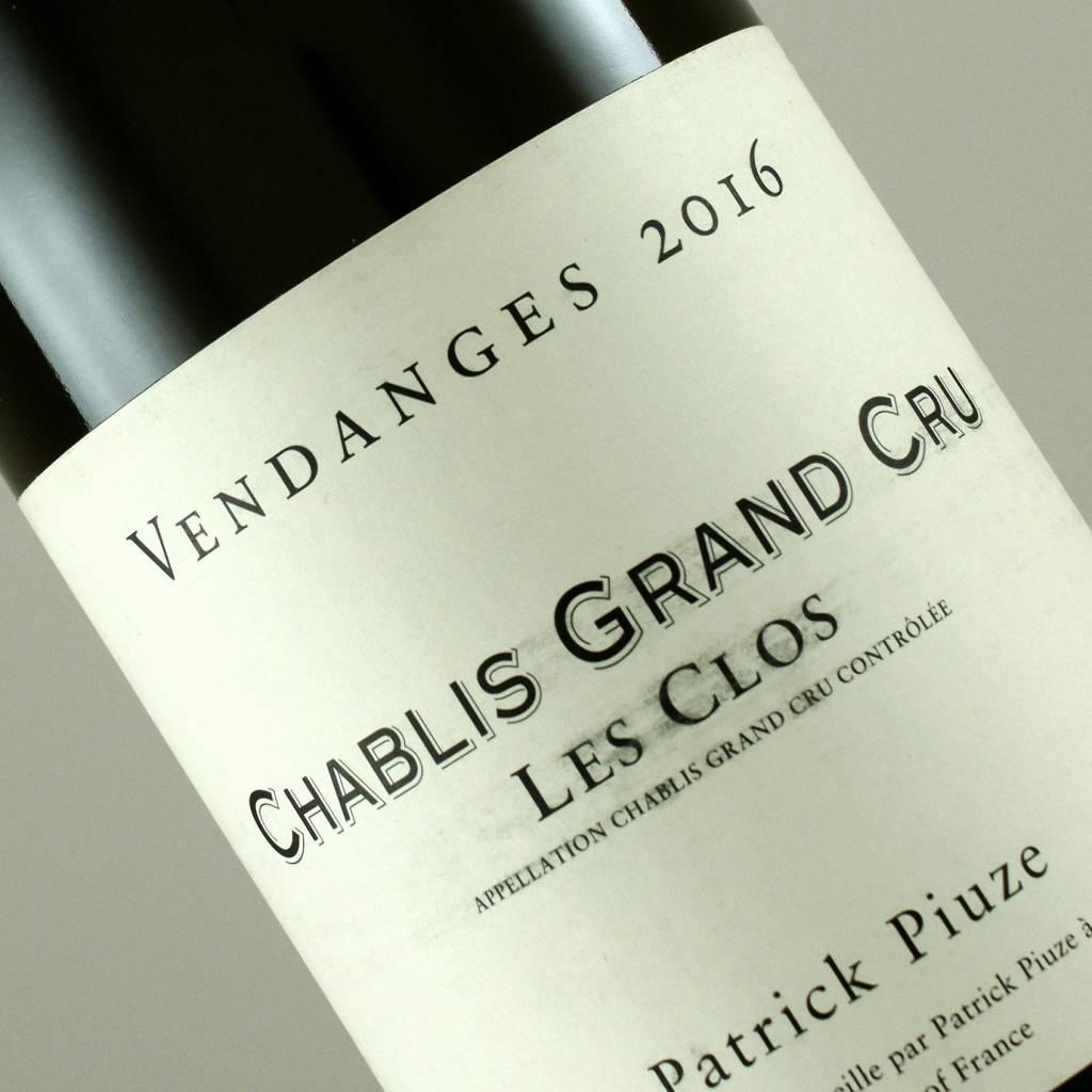 Patrick Piuze 2016 Chablis Grand Cru Les Clos