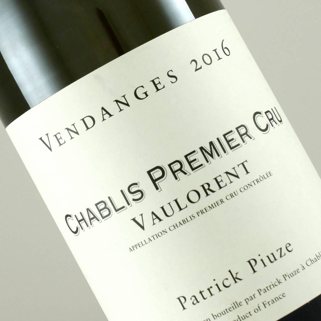 Patrick Piuze 2016 Chablis Premier Cru Vaulorent, Burgundy