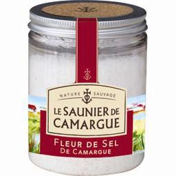 Le Saunier de Camargue Fleur de Sel Sea Salt Clear Jar, Languedoc, France