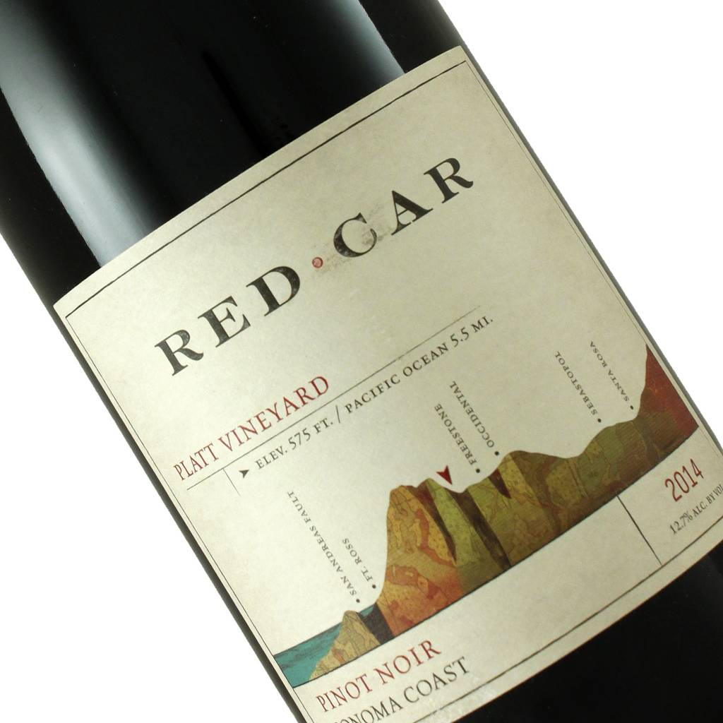 Red Car 2014 Pinot Noir Platt Vineyard, Sonoma Coast