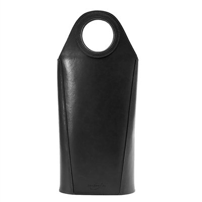 Oenophilia Tuscan Two Bottle Tote-Noir