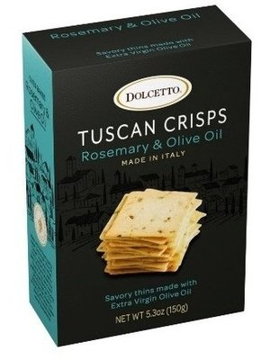 Dolcetto Tuscan Crisps Rosemary & Olive Oil