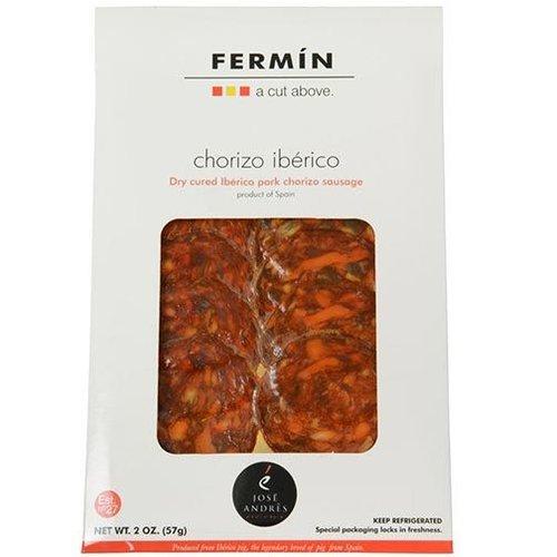 Fermin Chorizo Iberico, Iberico Pork Dry Cured Chorizo Sausage, Spain, 2 oz.
