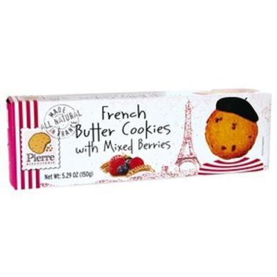Pierre Butter Cookies Mixed Berry, Normandy, France