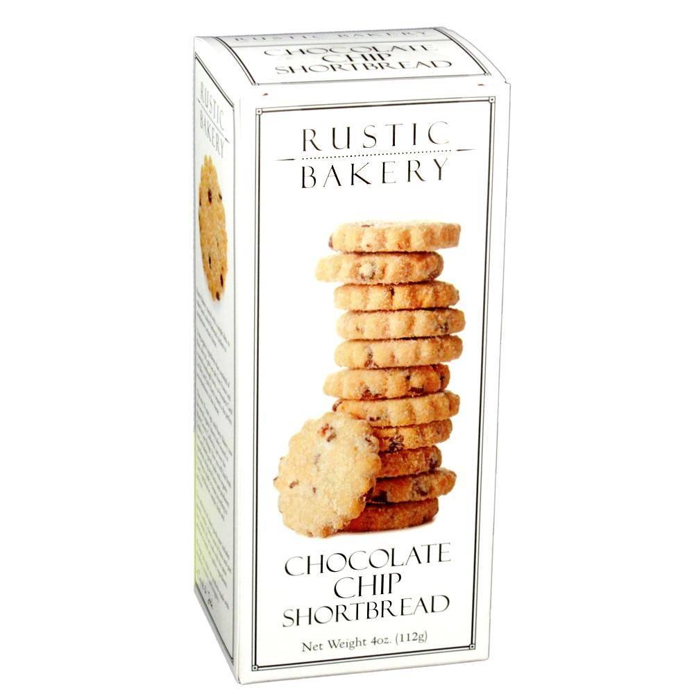 Rustic Bakery Chocolate Chip Shortbread, Petaluma, California 4 oz. box