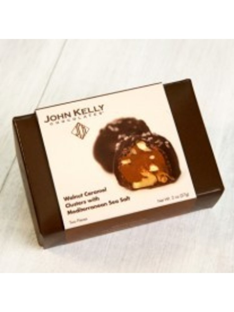 John Kelly 2 pc. Walnut Caramel Clusters with Sea Salt, Los Angeles