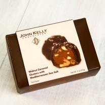 John Kelly 2 pc. Walnut Caramel Clusters with Sea Salt, Los Angeles