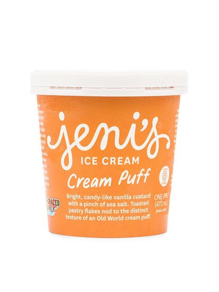 Jeni's Cream Puff Ice Cream Pint, Ohio