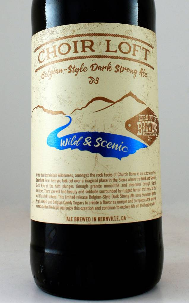 "Kern River Brewing ""Choir Loft"" Belgian Dark Strong Ale"