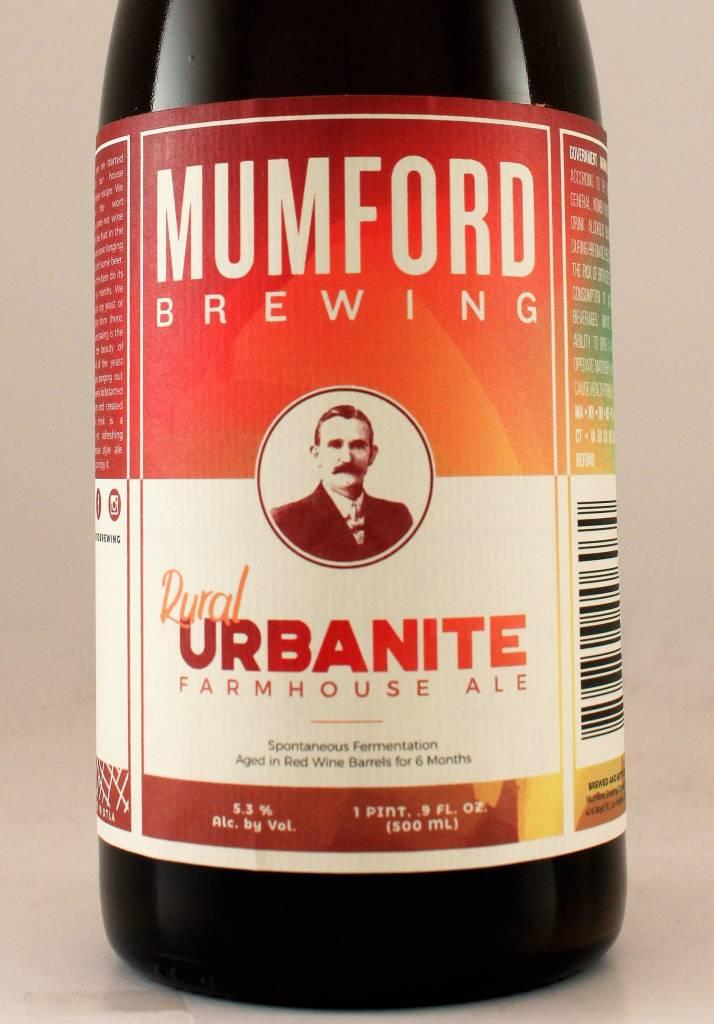 """Mumford """"Rural Urbanite"""" Farmhouse Ale"""