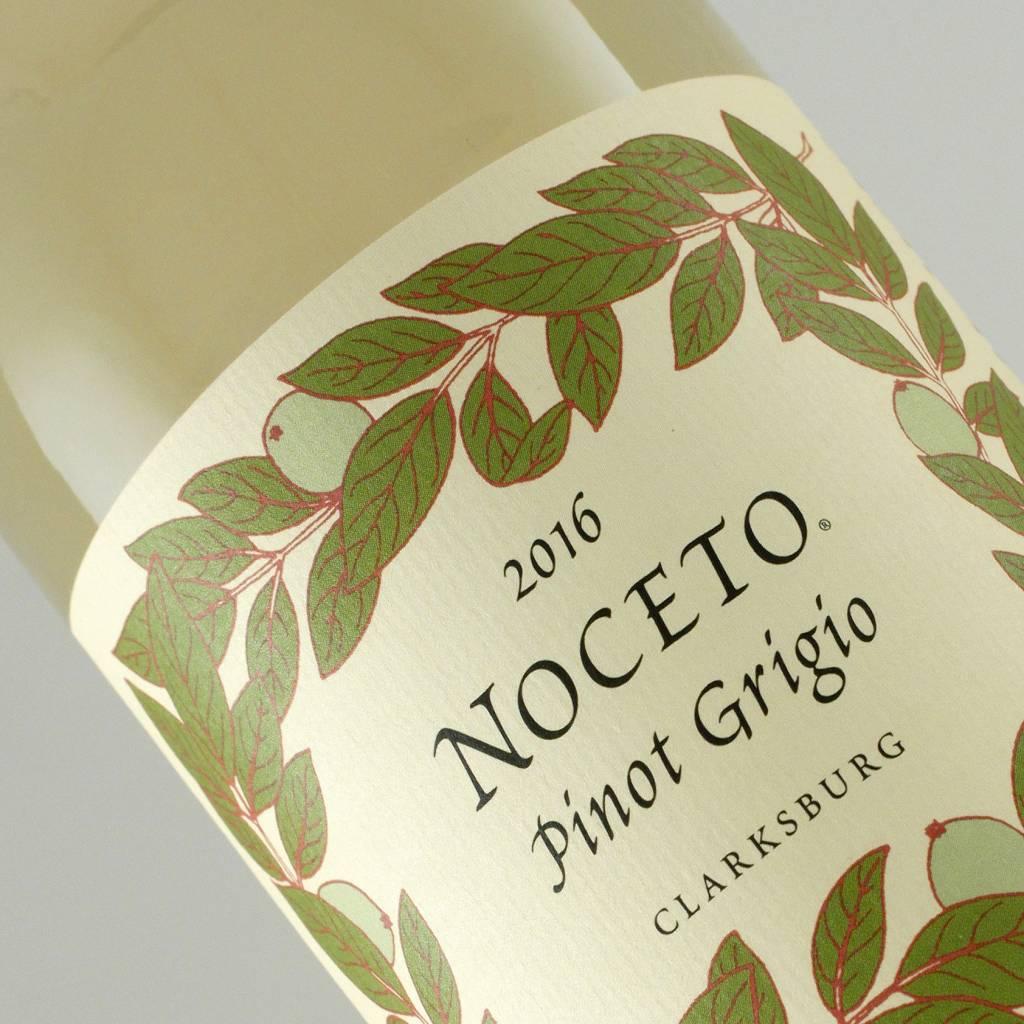 Noceto 2016 Pinot Grigio, Clarksburg
