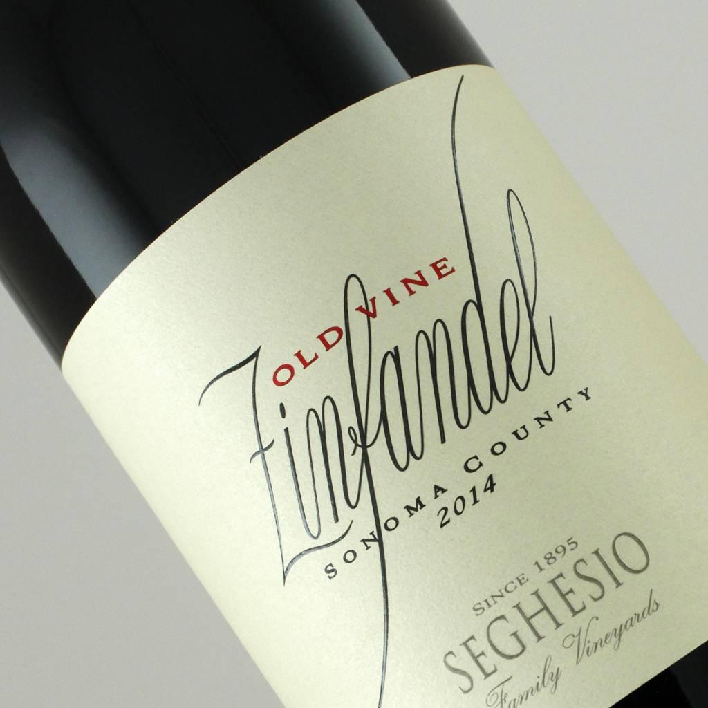 Seghesio 2015 Old Vine Zinfandel Sonoma County