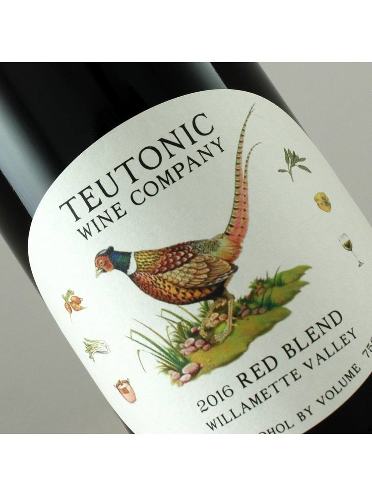 Teutonic 2019 Red Blend, Willamette Valley